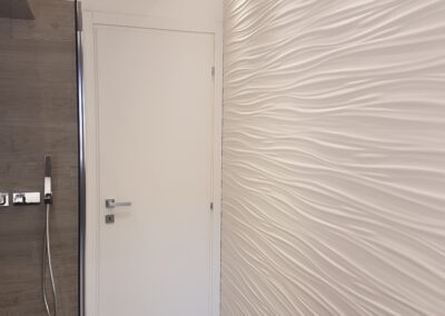 Il design contemporaneo in un bagno a Legnano (MI)