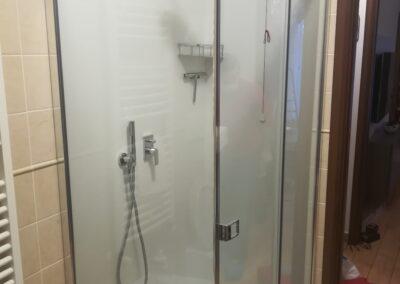 Vasca e doccia nuova in due bagni a Rescaldina (MI)